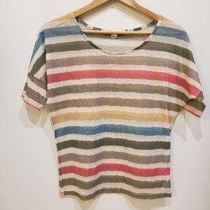 Forever 21 short sleeve stripe top